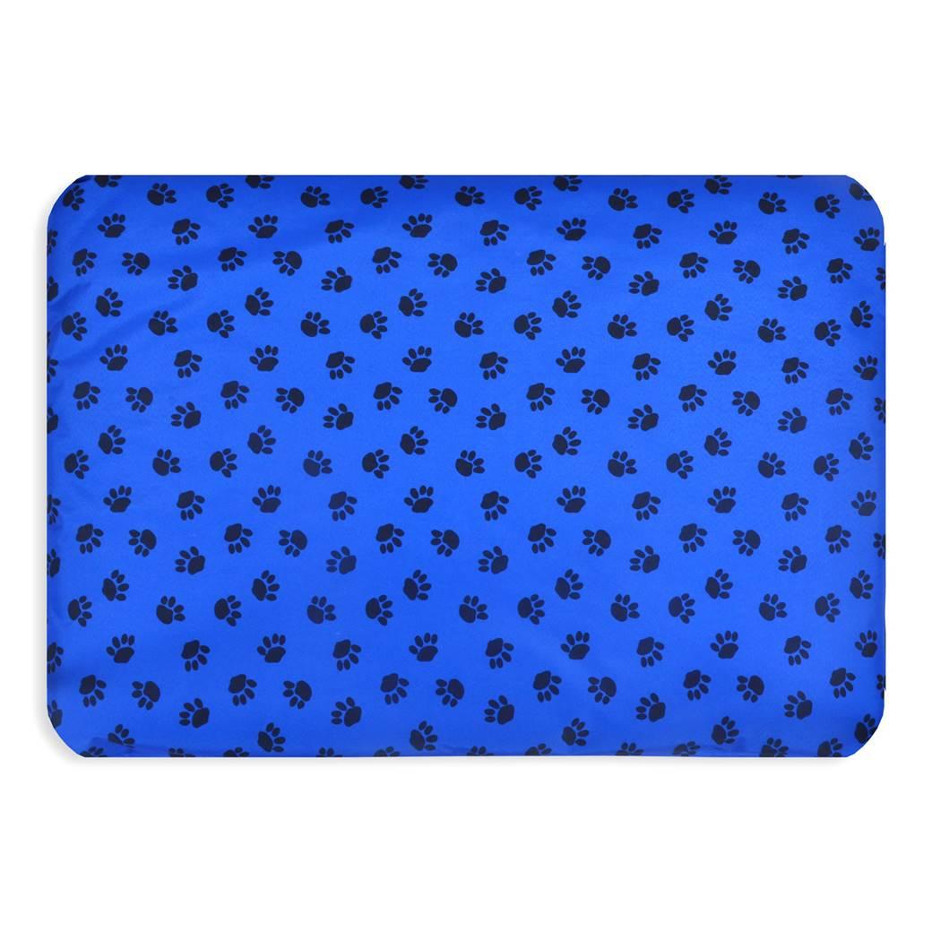 Paws Waterproof Dog Mats Wholesale New Pet Beds Direct : Paws Waterproof Dog Mats 2 blue from petbedsdirect.co.uk size 1040 x 1040 jpeg 85kB