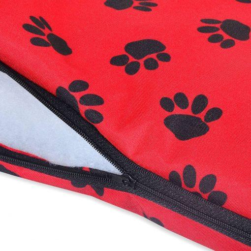 Paws Waterproof Dog Mats red uk