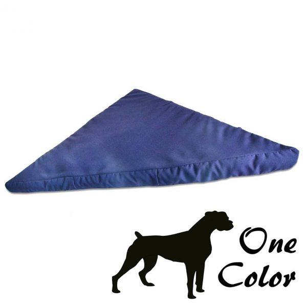 Corner bed one color blue uk cheap pet bed