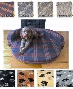 CIRCULAR DOG BED