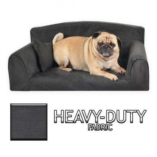 Heavy Duty Sofa Black DOG BED